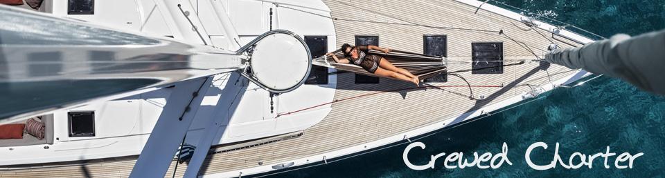 Island Sailing crewed yacht charter greece