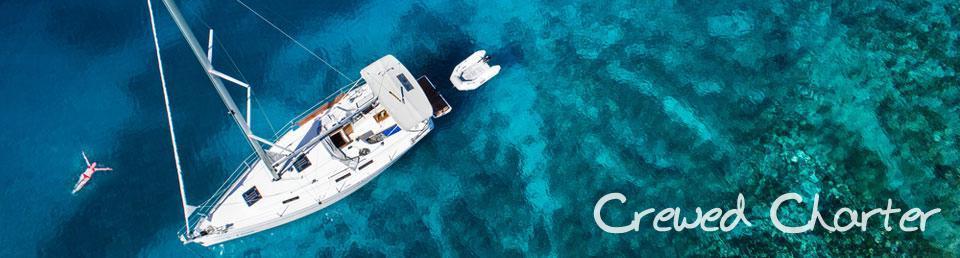 Island Sailing crewed yacht charter greek islands
